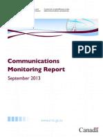 Communications Monitoring Report 2013