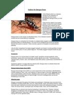 Outline on Dengue Fever - EDITED