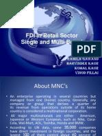fdi-single/ mutiple brand