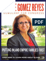Eloise Gomez Reyes Campaign Flier September 2013