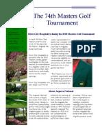 2010 Masters Golf Tournament 2x Satsun