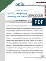 Antropología Economí y Subsistencia