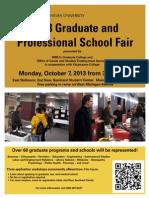 2013 Grad Fair Flyer