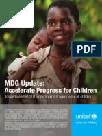 MDG Update