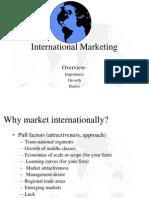 2. INTERNATIONAL Marketing Importance, Growth, Basics