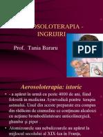 3. AEROSOLOTERAPIA - INGRIJIRI
