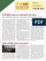 Boletim SinTUFABC 07 (26 de setembro de 2013)