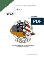 "NASA Space Shuttle ""Challenger"" STS-51L Press Kit"