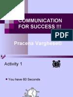 Communication for Success