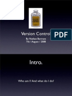 FITP Version Control - August 2008