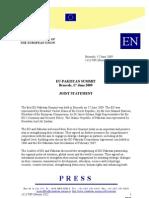 EU Summit Press Statment