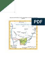 Area de concessão de ervais para a Companhia Mate Laranjeira