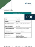 102 02 000014 Engineer's Report