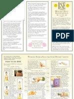 Breast Cancer Leaflet-English