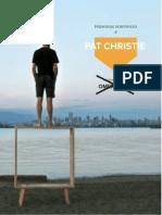 Personal Portfolio of Pat Christie