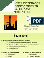 CARBURANTES OXIGENADOS COMO COMPONENTES EN GASOLINAS.pptx