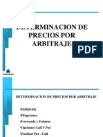 Determinacion de Precios Por Arbitraje