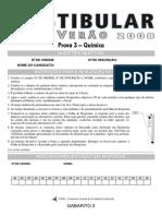 Vestibular UEM 2008 química