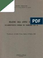 Pennolino-Relazione 1954 - 1958