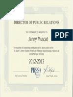 Director of PR