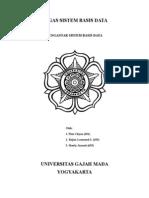 Tugas Basis Data - Pengantar Sistem Basis Data