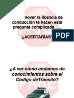Como Estamos de Leyes de Transito