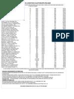 Cla Market Report Sept 25, 2013