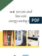 44 Ways 2 Save Energy