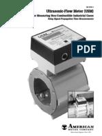 ultrasonic utility gas meter low flow