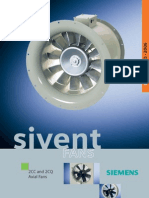 Sivent Fans - 2cc and 2cq Axial Fans