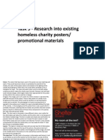 Task 3- Exsisting Homeless Product Research