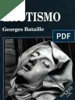 Bataille, Georges - El Erotismo
