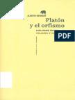 Bernabe Alberto Platon y El Orfismo