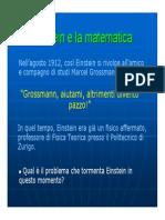 Einstein e la matematica