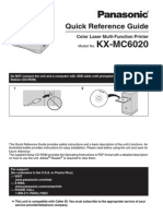 Panasonic Kxmc6020 Quick Guide
