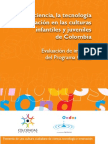 Evaluación de impacto del programa Ondas
