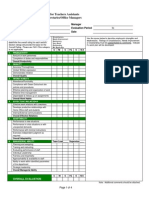 APPENDIX C UPCHS Support Staff Evaluation