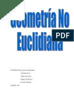GEOMETRÍA NO EUCLIDIANA