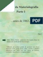 Aula2 - História da Materialografia