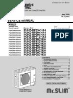 Service Manual PUHZ-RP250YKA