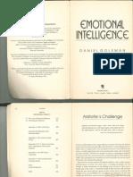 Goleman Emotional Intelligence Chapters 1 2 3