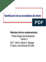 4 Identificacion Necesidades Cliente