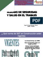Normas de Seguridad y Salud en El Trabajo- Diapositivas 1