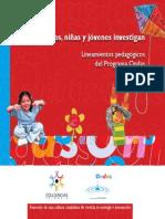 Lineamientos Pedagógicos del Programa Ondas