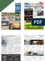 "Kuta Weekly-Edition 355 ""Bali's Premier Weekly Newspaper"""