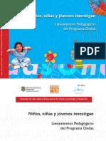 Niños,niñas y jovenes investigan