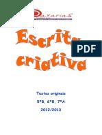 Livro escrita criativa