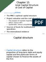 Cost of Cap n Cap Strcture