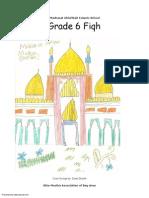 Madarsa AhleBait (a.s.) - Grade 6 - Fiqh