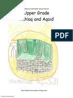 Madarsa AhleBait (a.s.) - Grade Upper - Akhlaq & Aqaid